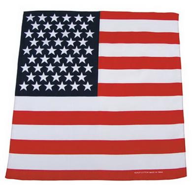Šátek BANDANA 55x55 cm vlajka USA