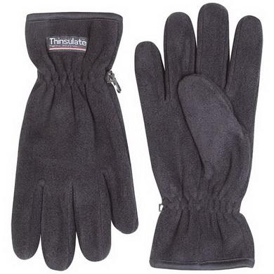 Rukavice prstové Thinsulate fleece ÈERNÉ