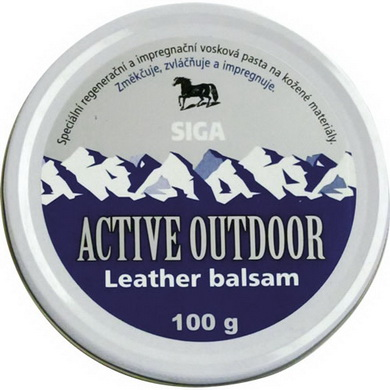 Impregnace ACTIVE OUTDOOR Leather balsam 70ml