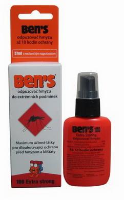 Repelent proti hmyzu BEN´S 100, 37ml - BENS