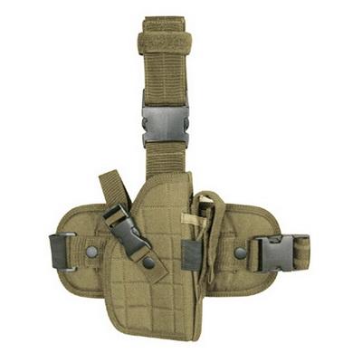 Pouzdro pistolové stehenní LEG HOLSTER COYOTE