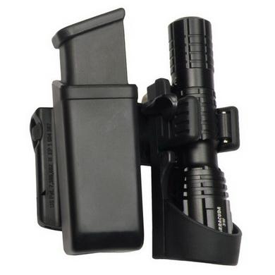 Pouzdro rotaèní pro zásobník 9mm LUGER a svítilnu