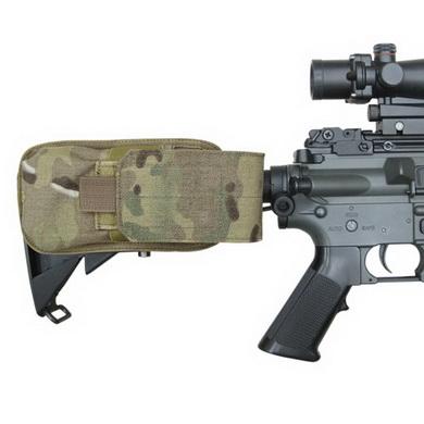 Sumka MOLLE na zásobník M16 k pažbì MULTICAM