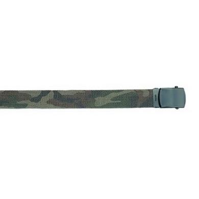 Opasek US kalhotový s èernou sponou WOODLAND dl.160 cm