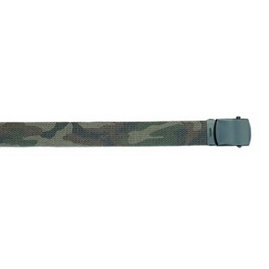 Opasek US kalhotový s èernou sponou WOODLAND dl.135 cm