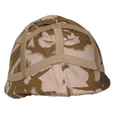 Potah na bojovou helmu britský DPM DESERT použitý