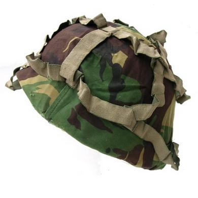 Potah na bojovou helmu britský DPM použitý