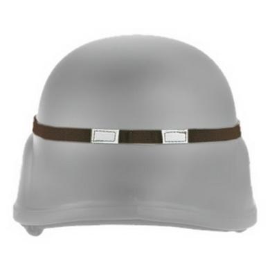 Pásek na helmu MFH elastický HNÌDÝ