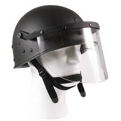 Helma zásahová s ochranným štítem US ÈERNÁ