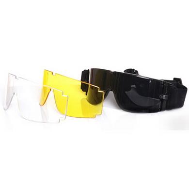 Brýle pro AIRSOFT 3 skla 101INC