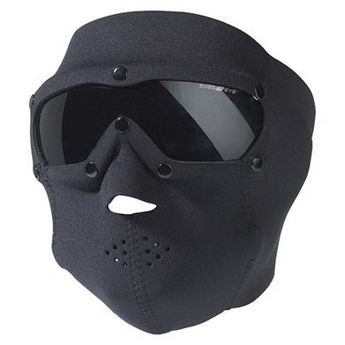 Maska s brýlemi SWAT PRO neopren ÈERNÁ
