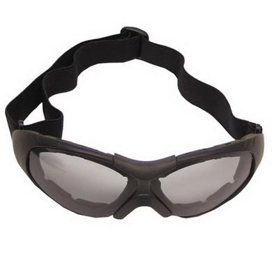 Brýle RUN na moto ÈERNÉ