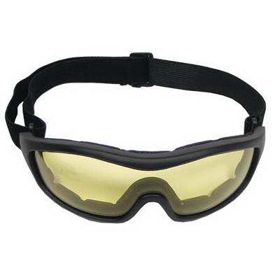 Brýle MOUNTAIN se žlutými skly ÈERNÉ
