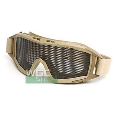 Brýle CM STRIKE s møížkou pro airsoft KHAKI