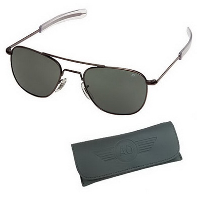 Brýle pilotní US AIR FORCE originál 55mm ÈERNÉ