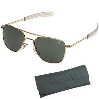Brýle pilotní US AIR FORCE originál 52mm ZLATÉ