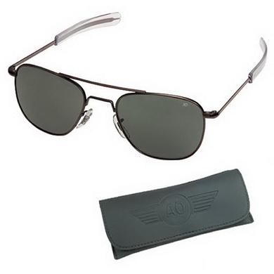 Brýle US AIR FORCE 57mm ÈERNÉ