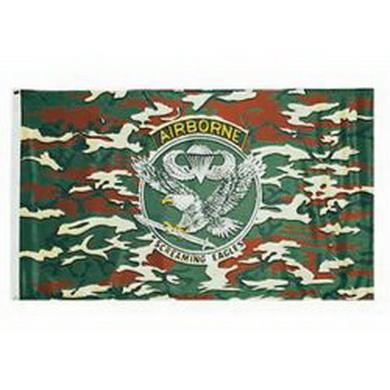 Vlajka motiv US AIRBORNE MASKOVANÁ
