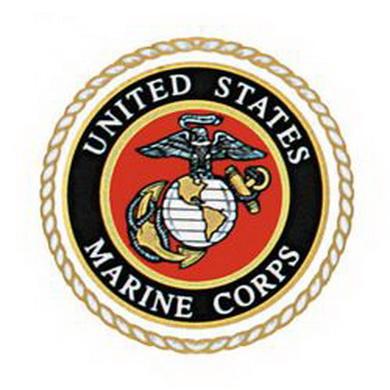 Samolepka U.S. MARINE CORPS SEAL