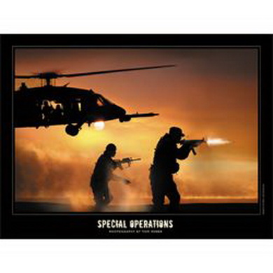 Plakát SPECIAL OPERATIONS 50x60cm