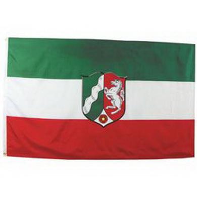 Vlajka NORDRHEIN-WESTFALEN 90 x 150 cm