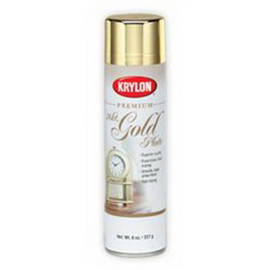 Barva KRYLON metalická ve spreji GOLD 18KT