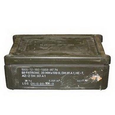 Bedna BW na munici C32 použitá