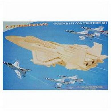 Skládaèka 3D PUZZLE døevìná F-15 model