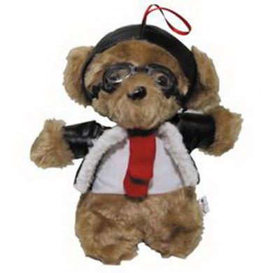 Medvídek plyšový PILOT 24 cm