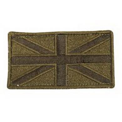 Nášivka Velcro GB FLAG OLIV