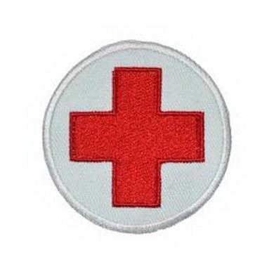 Nášivka zdravotník - èervený køíž