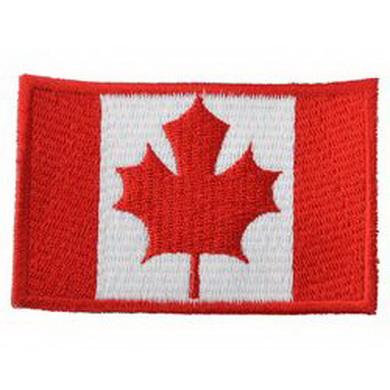 Nášivka vlajka CANADA - BAREVNÁ