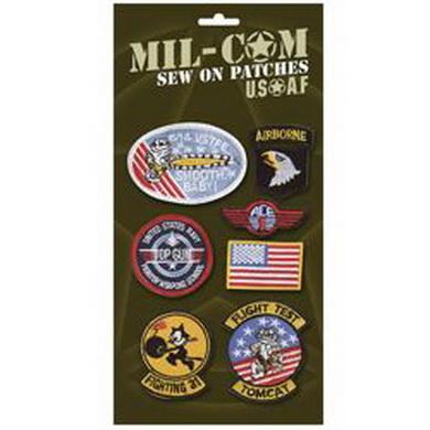 Nášivky USAF sada 7 kusù