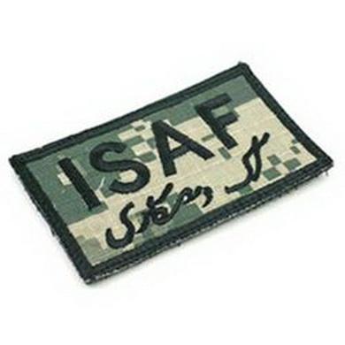 Nášivka ISAF velcro ACU