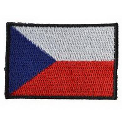 Nášivka ÈR vlajka støední BAREVNÁ