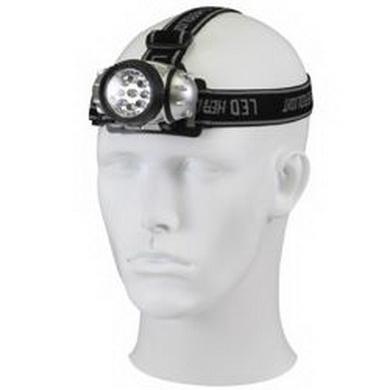 Svítilna èelová LED diody + 3 AAA baterie