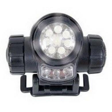 Svítilna èelová LED bojová 95g web-tex ÈERNÁ