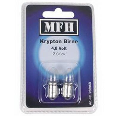Žárovka náhradní kryptonová 4,8 V