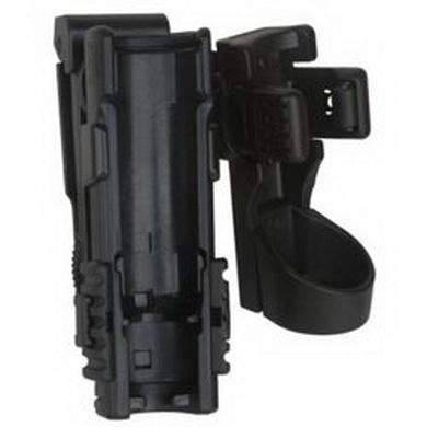 Pouzdro rotaèní plastové MOLLE pro telesk. obušek 16,18,21 a svítilnu