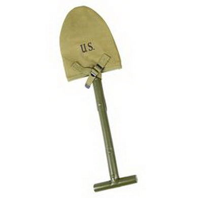 Pouzdro US M10 na rýèek T na rýèek KHAKI repro