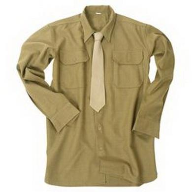 Košile US vlnìná KHAKI repro