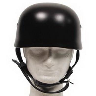Helma parašutistická WWII kožený vnitøek ÈERNÁ