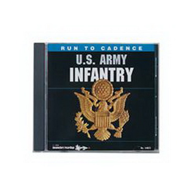 CD RUN TO CADENCE U.S. ARMY INFANTRY