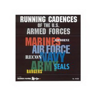CD US RUN TO CADENCE ARMED FORCES