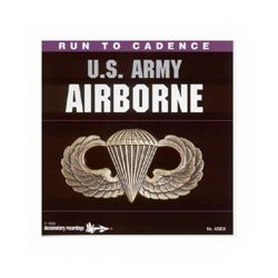 CD US RUN TO CADENCE ARMY AIRBORNE