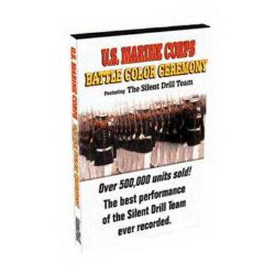 DVD USMC BATTLE COLOR CEREMONY 45minut