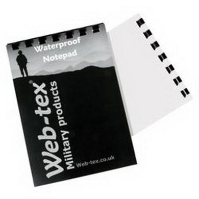 Zápisník nepromokavý web-tex A6