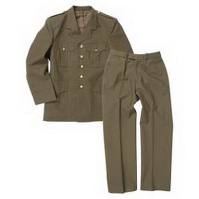 Uniforma BELGICKÁ vojenská ZELENÁ