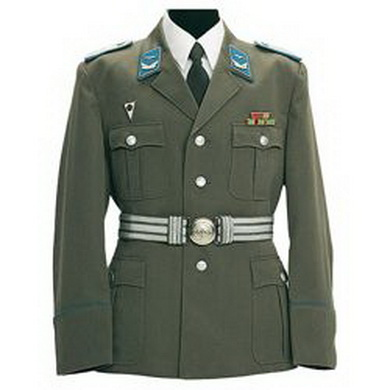 Sako NVA uniform.s prýmky dùstoj. LSK orig.nové