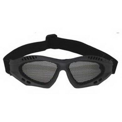 Brýle AIRSOFT kovová møížka ZELENÉ